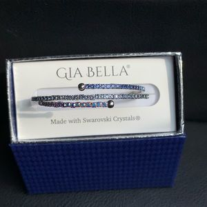 Gia Bella Swarovski twisty cuff